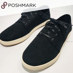 TOMS Black Perforated Synthetic Suede size-11 NEW
